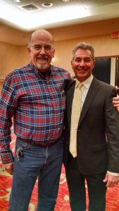 Paul Yeager with Dr. Greg Brannon in January 2016.